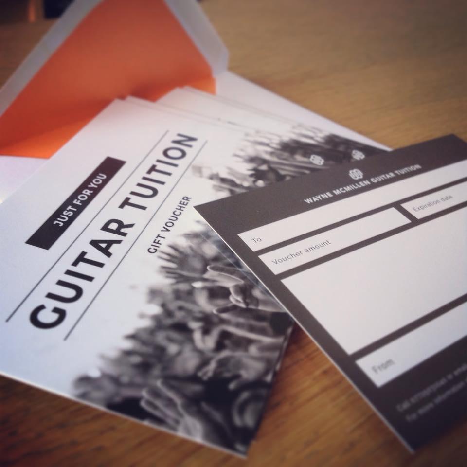 Printed gift voucher